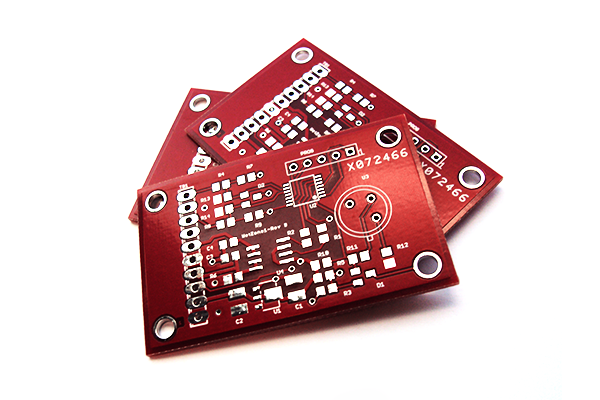 WetZone printed circuit board prototypes
