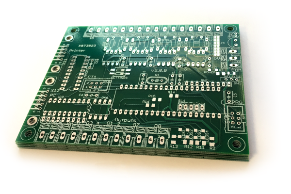 Microcontroller PC Board Prototype