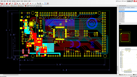 free pcb design software DS