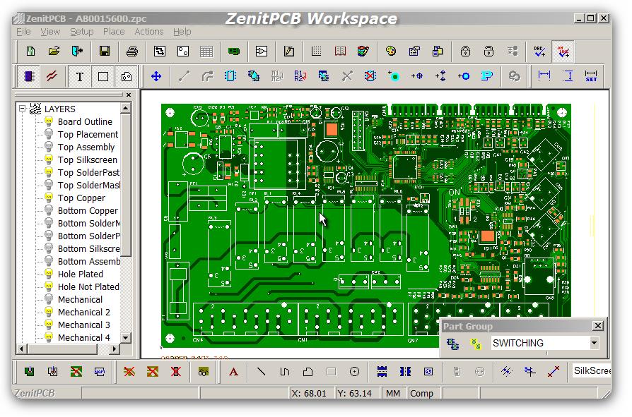 Erfreut Pcb Entwerfen Von Software Kostenloser Download Bilder ...